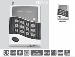 Bezdrátová klávesnice Keypad HF-28WK