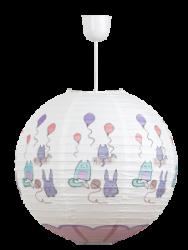 Papírový lustr s dětským motivem Cathy Rabalux 4632