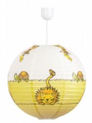 Papírový lustr s dětským motivem Leon Rabalux 4633