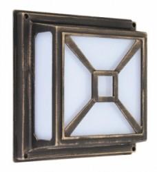 Fotografie Venkovní stropní- nástěnné svítidlo Darius Rabalux 8190
