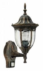 Venkovní svítidlo Milano - se senzorem pohybu Rabalux 8370
