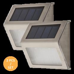 Venkovní LED solární nástěnné svítidlo Santiago 8784