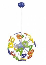 Dětský závěsný lustr ABC Rabalux 4716