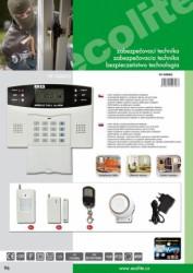 Bezdrátový GSM alarm HF-GSM03 HF-GSM03
