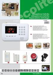 Bezdrátový GSM alarm HF-GSM01 HF-GSM01